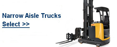 Select TCM Narrow Aisle Trucks